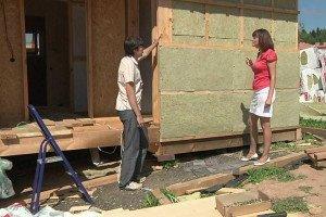 Эффективность утепления каркасных домов