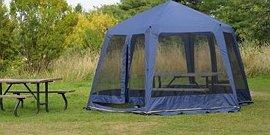 Фото - Беседка-шатер для дачи – выбираем всепогодное укрытие на время отдыха