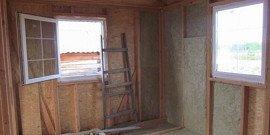 Технология постройки деревянного каркасного дома