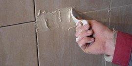 Шпатель для затирки швов – наносим фугу профессионально