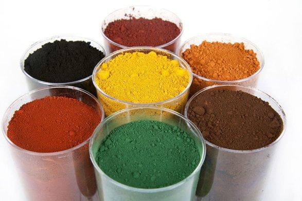 Фото красящих пигментов для герметиков