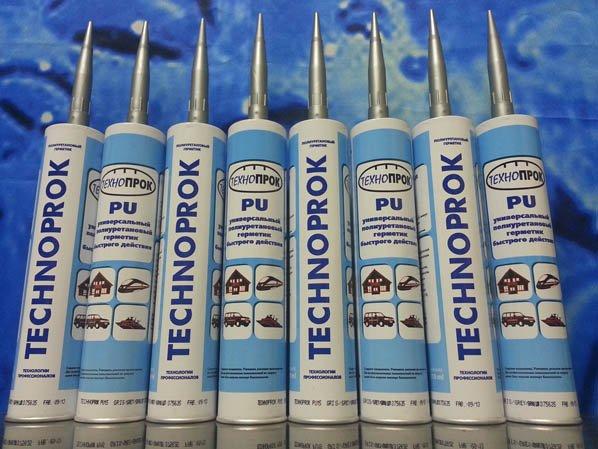 Фото полиуретановых герметиков