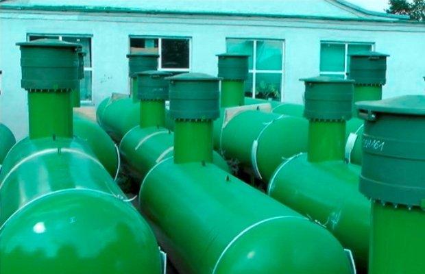 Газгольдер – автономное отопление