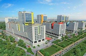 На фото - строящийся жилой комплекс, urbanawards.ru