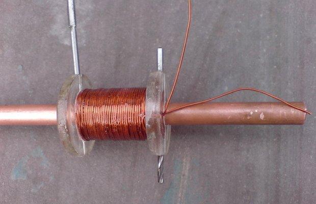 Индукционная катушка для самодельного котла отопления