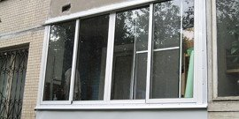 Остекление балконов алюминиевым профилем – вариант эконом-класса