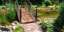 Кованые изделия из металла в ландшафтном дизайне и отделке дома