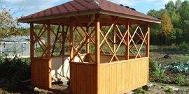 Беседки из дерева – универсальные конструкции для каждого двора