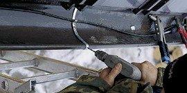 Саморегулирующийся кабель для обогрева водостоков кровли