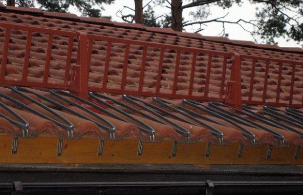 Система антиобледенения крыши