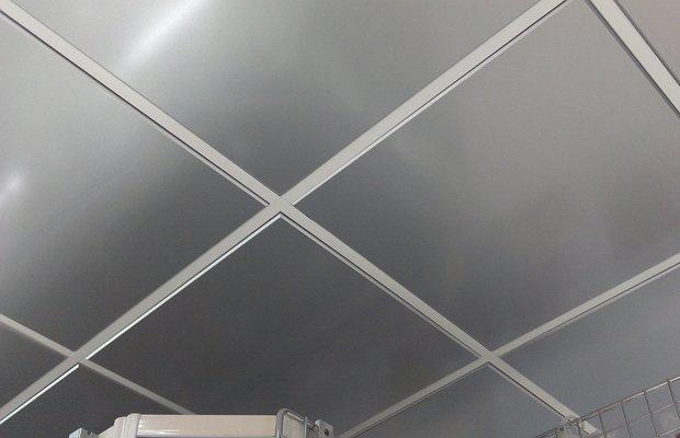 Металлические панели кассетного потолка