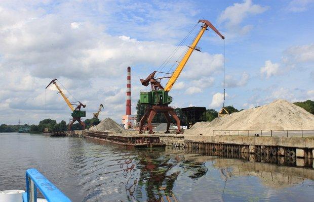 Добыча природного сыпучего материала для строительных работ