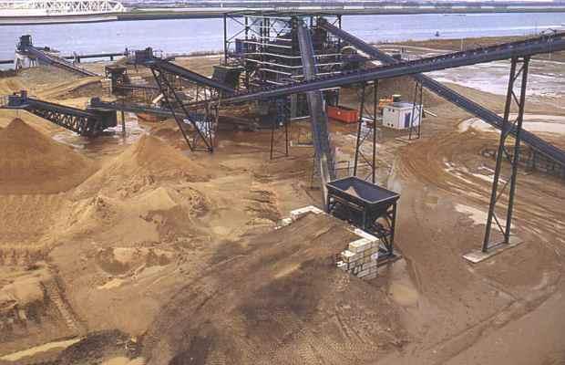 Обогащение песка