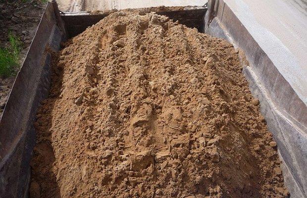 Песок для заполнения строительных растворов и бетонов