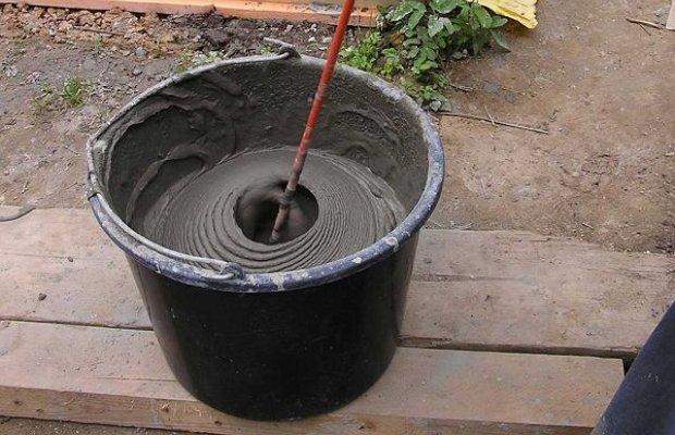 Приготовление морозостойкого раствора для плитки
