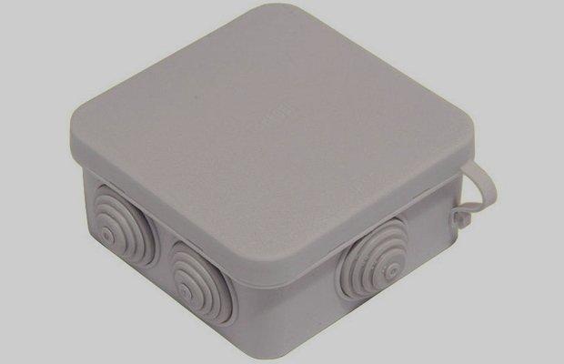 Распределительная коробка для установки фотореле
