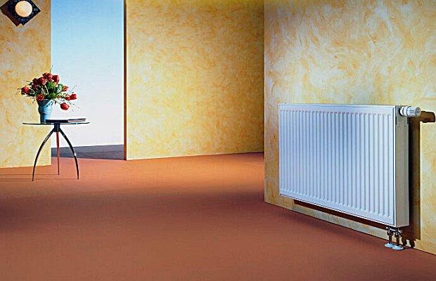 Стальной панельный радиатор фирмы «Buderus»