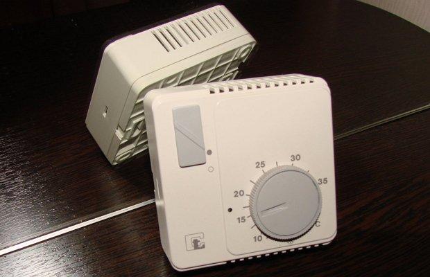 Механический терморегулятор для газового котла
