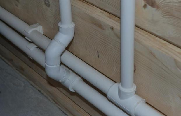 Открытый способ разводки водоснабжения