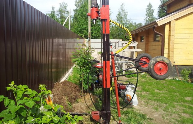 Бурение скважины для водоснабжения