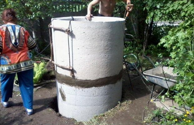 Обустройство колодца для системы подачи воды