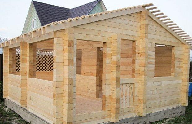 Строительство дачного сооружения своими руками