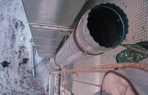 Фальцевый крепеж элементов воздуховода