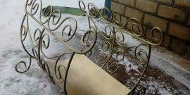 Фото - Изделия из металла – декорируем дом и двор своими рукамим