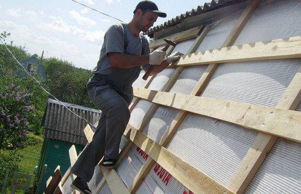 Крыша садовой беседки – практичный вариант