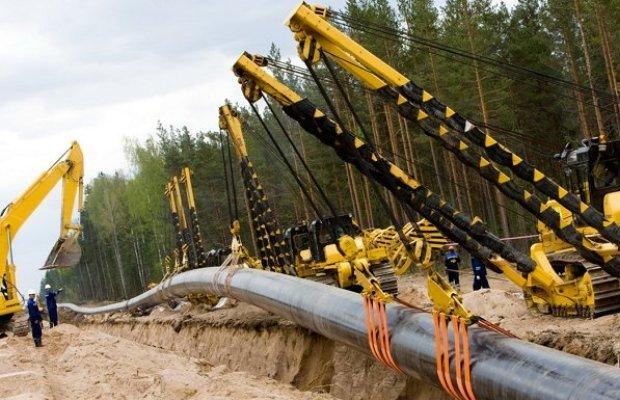 Прокладка газопровода кольцевым способом