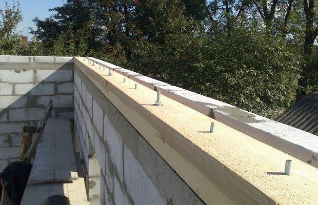 Двускатная крыша своими руками видео фото 165