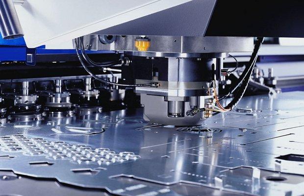 Процесс получения штампованных деталей