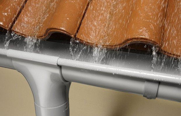 Водосток из оцинкованной стали с полимерным покрытием