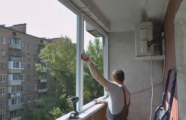 Как сделать своими руками остекление лоджии? фото