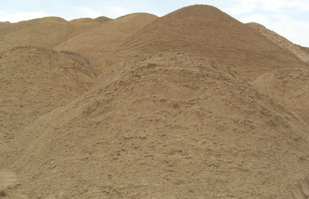 Строительный песок