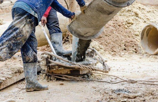 Производство бетона из крупного песка