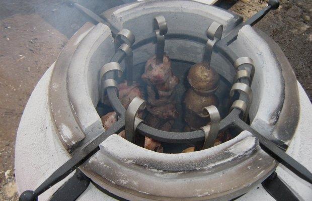 Печь для запекания продуктов