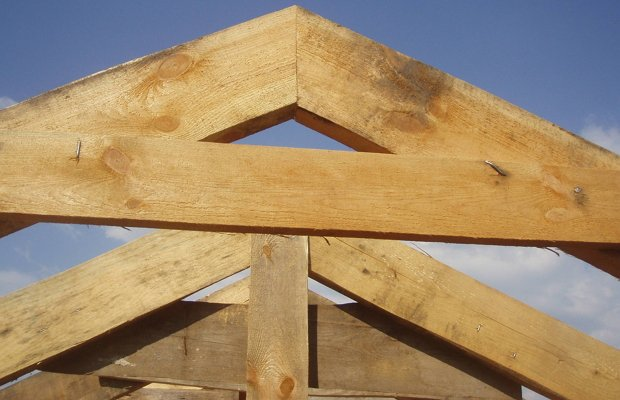 Коньковое соединение – обеспечим крепкую вершину крыше
