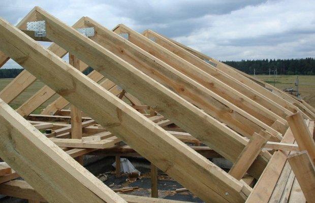 Коньковое соединение – обеспечим крепкую вершину крыше фото