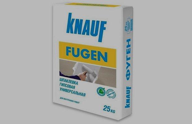 Шпаклевка немецкого производителя «Knauf»