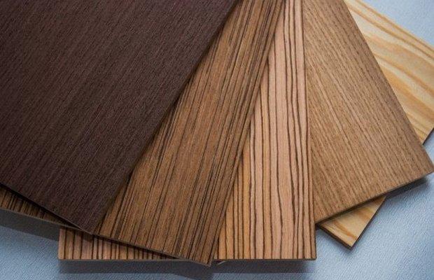 Шпонированные буком деревянные щиты