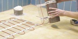 Монтаж теплого электрического пола – как не запутаться в проводах?