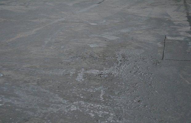 Дефекты полов из бетона