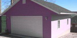 Как быстро построить гараж из недорогих материалов своими руками
