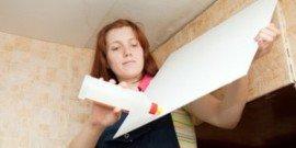 Клей для монтажа потолочной плитки