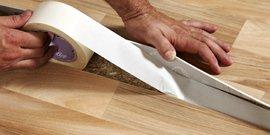 Как постелить линолеум на деревянный пол – все совсем несложно!