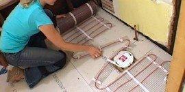 Как сделать электрический теплый пол своими руками?