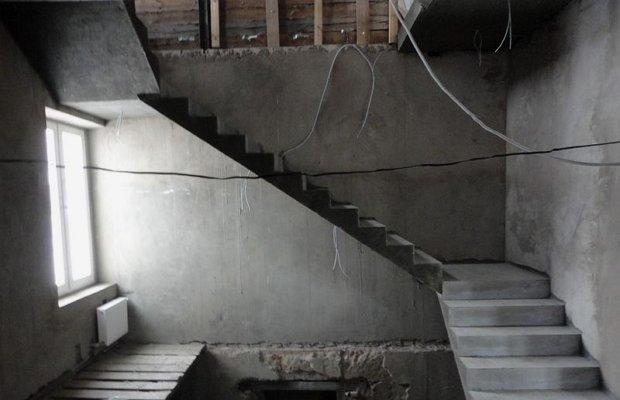 Лестничные марши из бетона