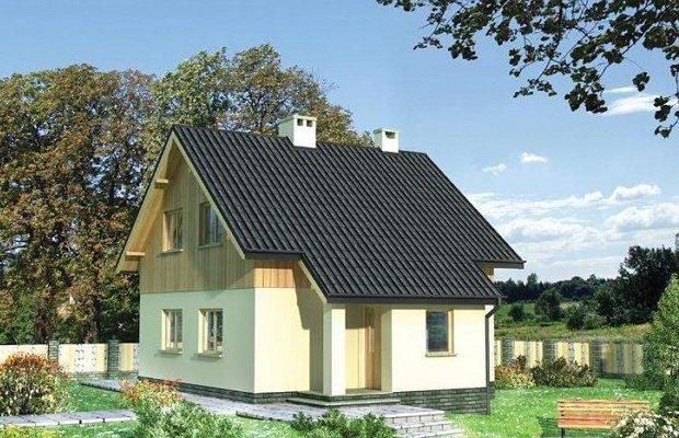 Дом из древесины с многослойными стенками