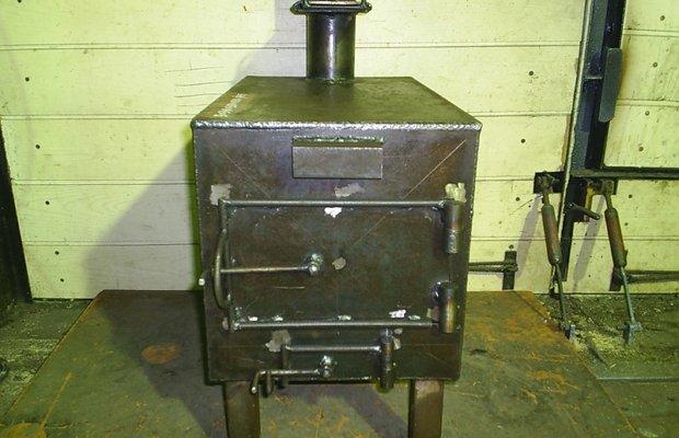 Автономный нагреватель для гаражного помещения